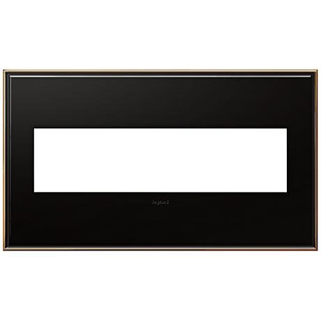 Adorne 4-Gang Oil-Rubbed Bronze Wall Plate