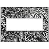 Adorne Magnesium Trim 3-Gang Customizable Wall Plate