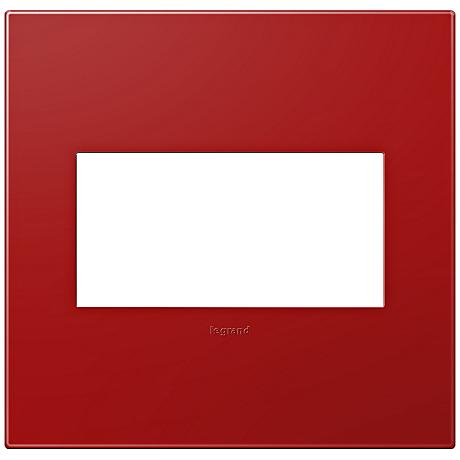 Adorne Cherry 2-Gang Snap-On Wall Plate
