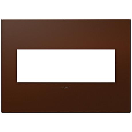 Adorne Soft Touch Russet 3-Gang Wall Plate
