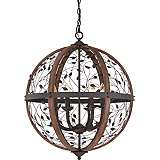 "Quoizel Chamber 24"" Wide Darkest Bronze Chandelier"