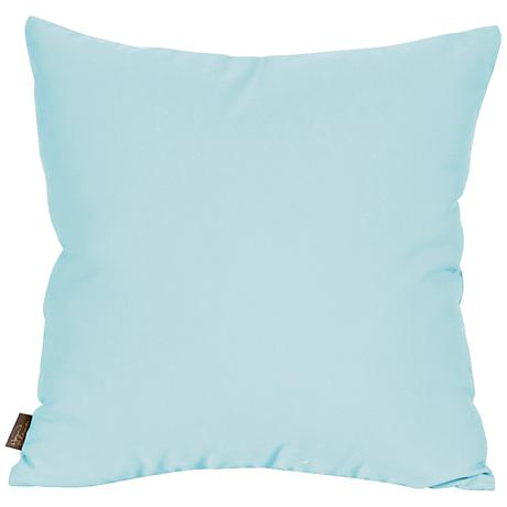 "Howard Elliott Seascape Breeze 20"" Square Outdoor Pillow"