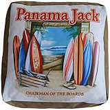 Panama Jack Chairman of The Boards Outdoor Pouf Ottoman
