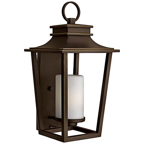 "Sullivan 11 3/4""W Oil-Rubbed Bronze Outdoor Wall Light"