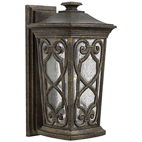 "Hinkley Enzo 10"" Wide Autum Outdoor Wall Light"