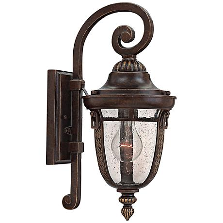 "Hinkley Key West 7"" Wide Regency Bronze Outdoor Wall Light"