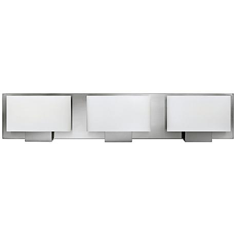 "Hinkley Mila 24"" Wide Brushed Nickel Bath Light"