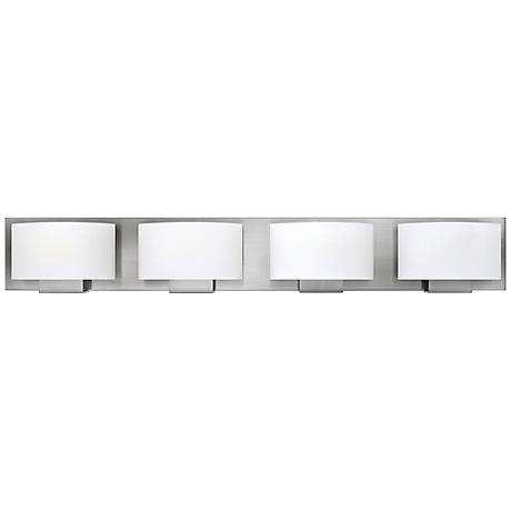"Hinkley Mila 32 1/4"" Wide Brushed Nickel Bath Light"