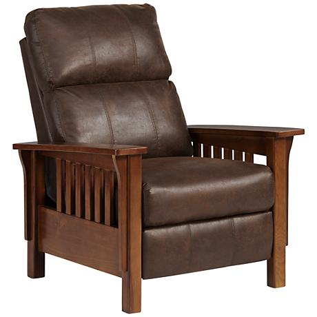 Palance Dixie Espresso 3-Way Recliner Chair