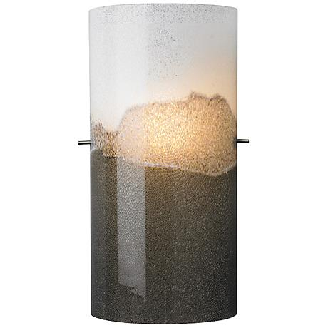 "LBL Dahling Bronze 15""H Multi-Tone Gray Glass Wall Sconce"
