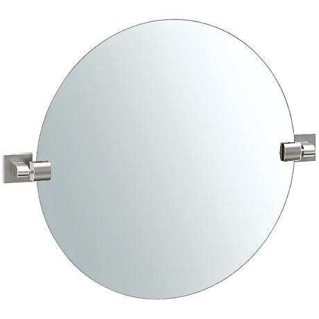 "Gatco Elevate Satin Nickel 23 3/4"" x 19 1/2"" Mirror"