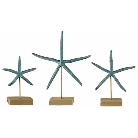 Crestview Collection Starfish Sculpture Set of 3