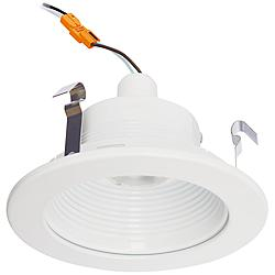 "4"" Cyber Tech 7 Watt LED Retrofit Trim in White"