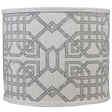 Arbor Stone Gray Lamp Shade 12x12x10 (Spider)