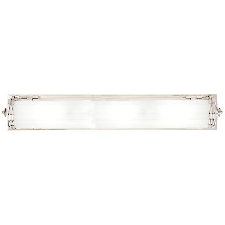 "Hudson Valley Bristol 30 1/2""W Polished Nickel Bath Light"