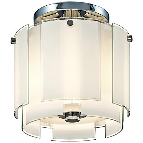 "Sonneman Velo 13""W Polished Chrome Ceiling Light"
