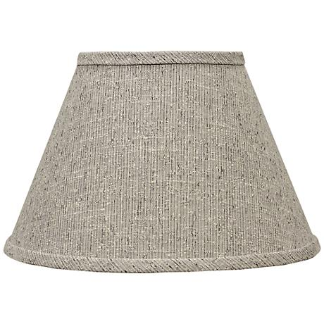 Siam Textured Brown Empire Lamp Shade 6x12x8 (Spider)