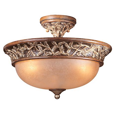 "Jessica McClintock Salon Grand 15"" Wide Ceiling Light"