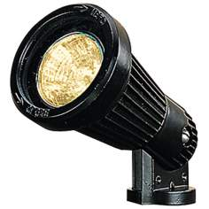 "Black 6"" High Low Voltage Landscape Spot Light"