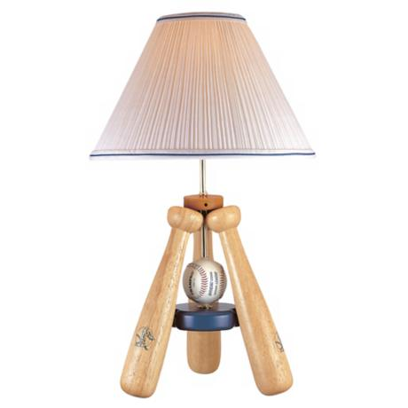 Lite Source Baseball Bat Table Lamp