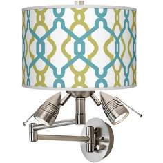 Hyper Links Giclee Swing Arm Wall Light