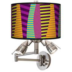 Mambo Giclee Swing Arm Wall Light