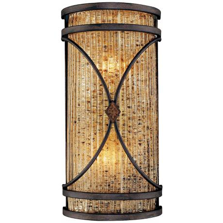 "Monte Titano Oro 14 1/2"" High ADA Wall Sconce"