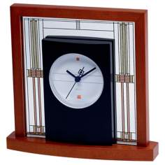 Bulova Frank Lloyd Wright's Willits House Table Clock