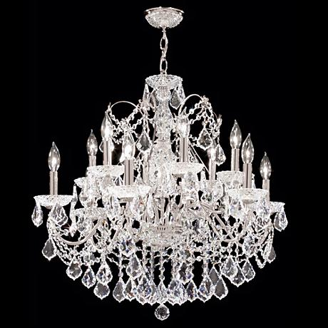 "James R. Moder 28"" Wide Twelve Light Chandelier"