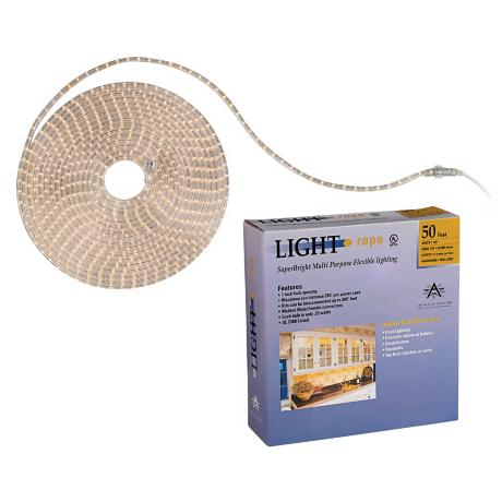SuperBright 50 Foot Long Rope Light