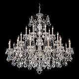 "Schonbek Century Collection 42 1/2"" Wide Crystal Chandelier"
