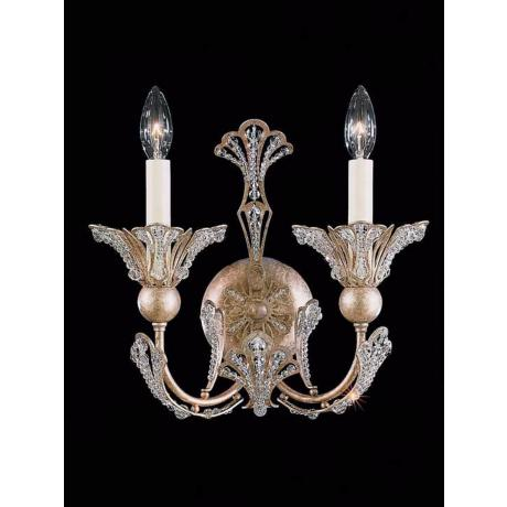 Schonbek Rivendell Collection Tourmaline Wall Sconce