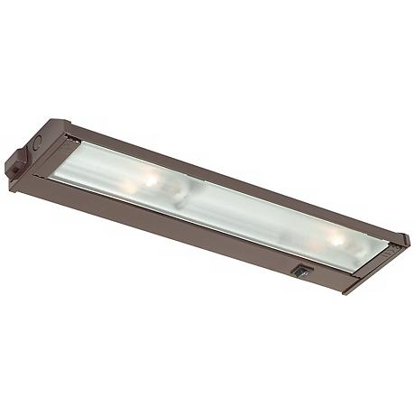 "Mach 120 Bronze 16"" Xenon Under Cabinet Light"