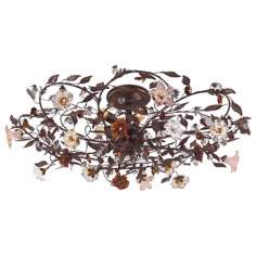 "Ghia Collection 38"" Wide Ceiling Light Fixture"