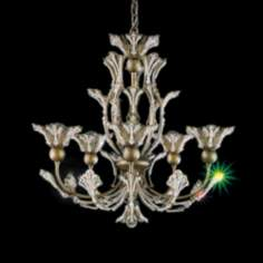 Schonbek Rivendell Collection Five Light Chandelier