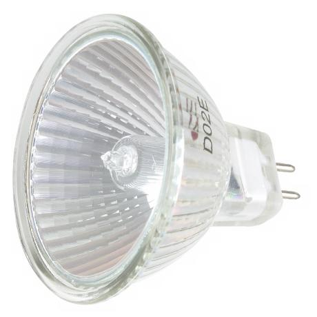Xenon 50-Watt MR16 Cover Glass Bulb