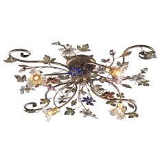 "Brillare Collection 35"" Wide Ceiling Light Fixture"