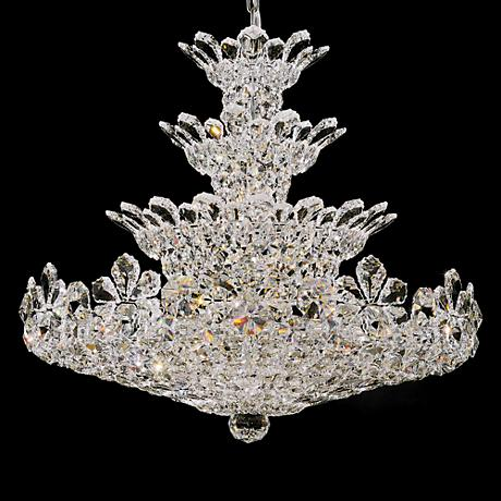 "Schonbek Trilliane Collection 30"" Wide Crystal Chandelier"