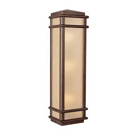 "Murray Feiss Mission Lodge 26"" High Outdoor Wall Light"