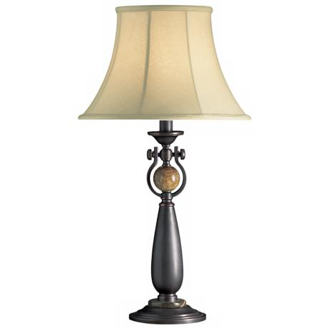 Urban Traditions Copper Bronze Table Lamp