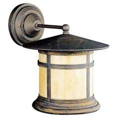 "Kichler Tularosa Bronze 13"" High Outdoor Wall Light"