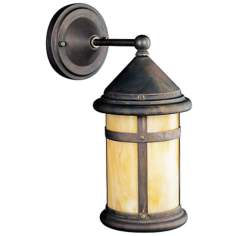 "Kichler Tularosa Bronze 13 1/2"" High Outdoor Wall Light"