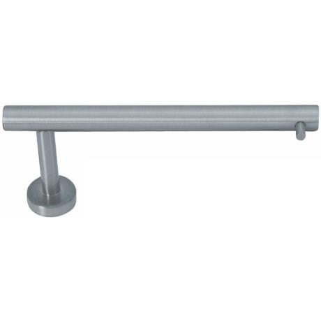 Linea Brushed Nickel Toilet Paper Holder