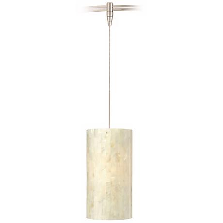 Playa White Tech Lighting MonoRail Pendant Light