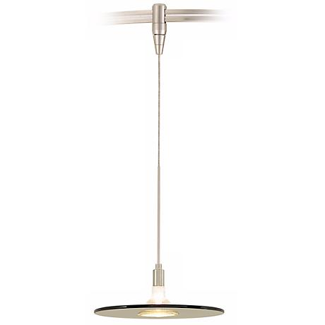 Biz Havana Brown Satin Nickel Tech Lighting MonoRail Pendant