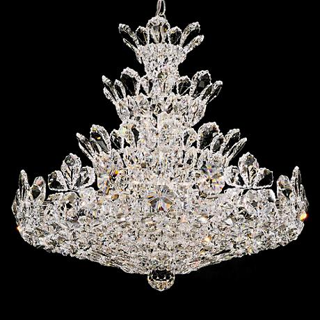 "Schonbek Trilliane 24"" Wide Crystal Chandelier"