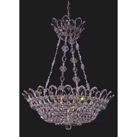 "Schonbek Trilliane Collection 24"" Crystal Pendant Chandelier"