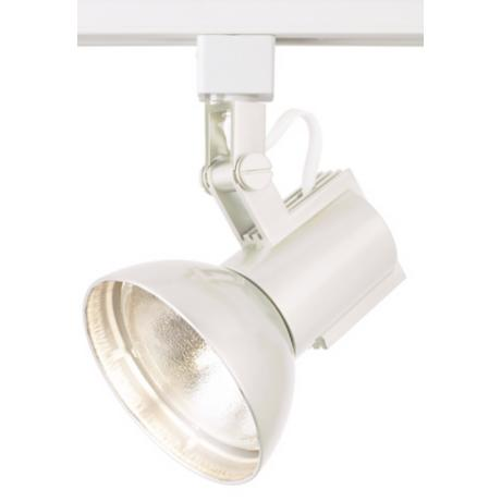 WAC White Track Light Bullet for Lightolier Track Systems
