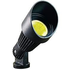 Green Hooded Low Voltage Landscape Spot Light
