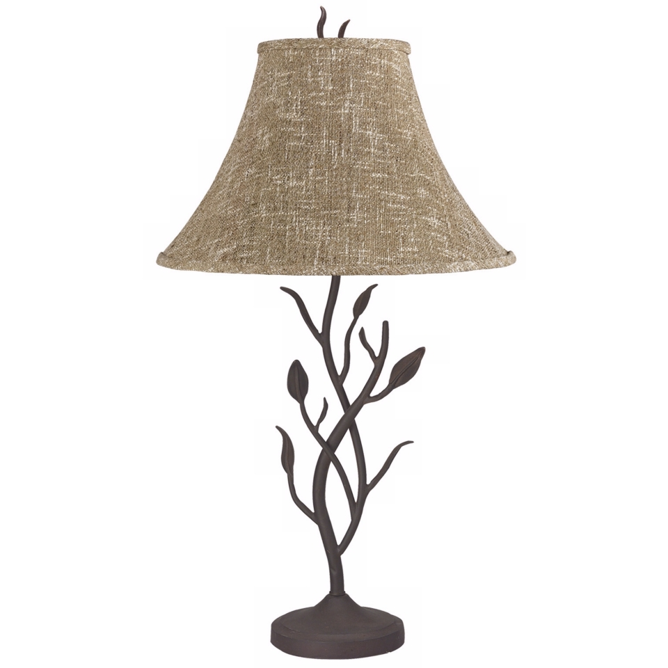 wrought iron tree table lamp lampsplus. Black Bedroom Furniture Sets. Home Design Ideas